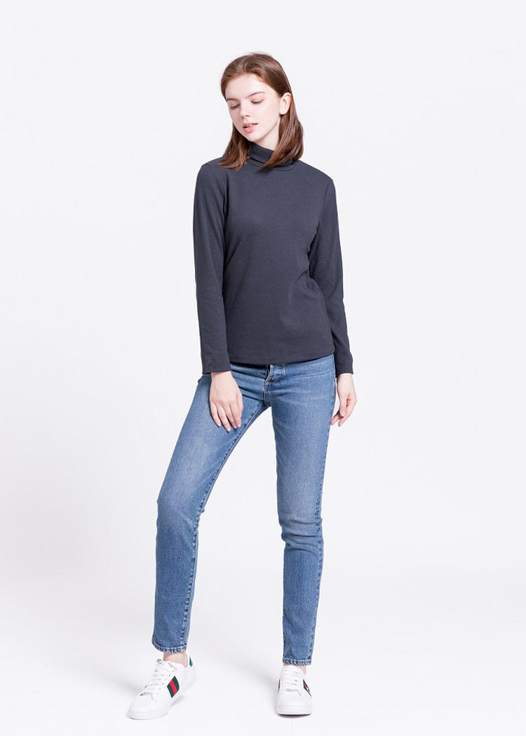 Women's Lightweight Turtleneck T-Shirts