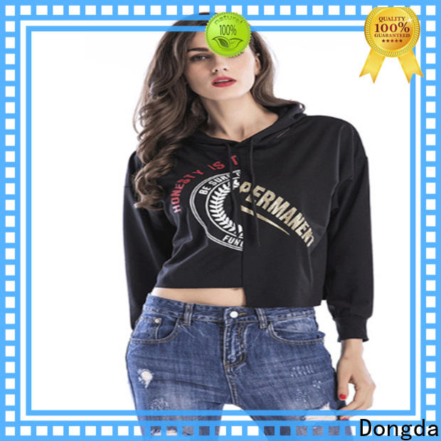 Dongda graphic sweatshirts suppliers for ladies