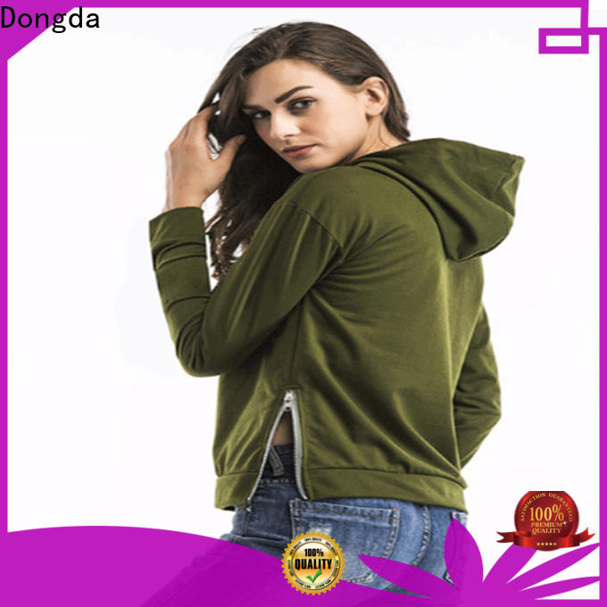 Dongda spring female hoodies suppliers for international market