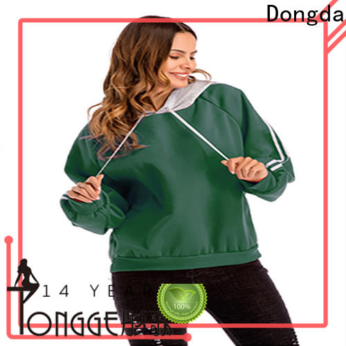 Dongda Wholesale female hoodies factory for ladies