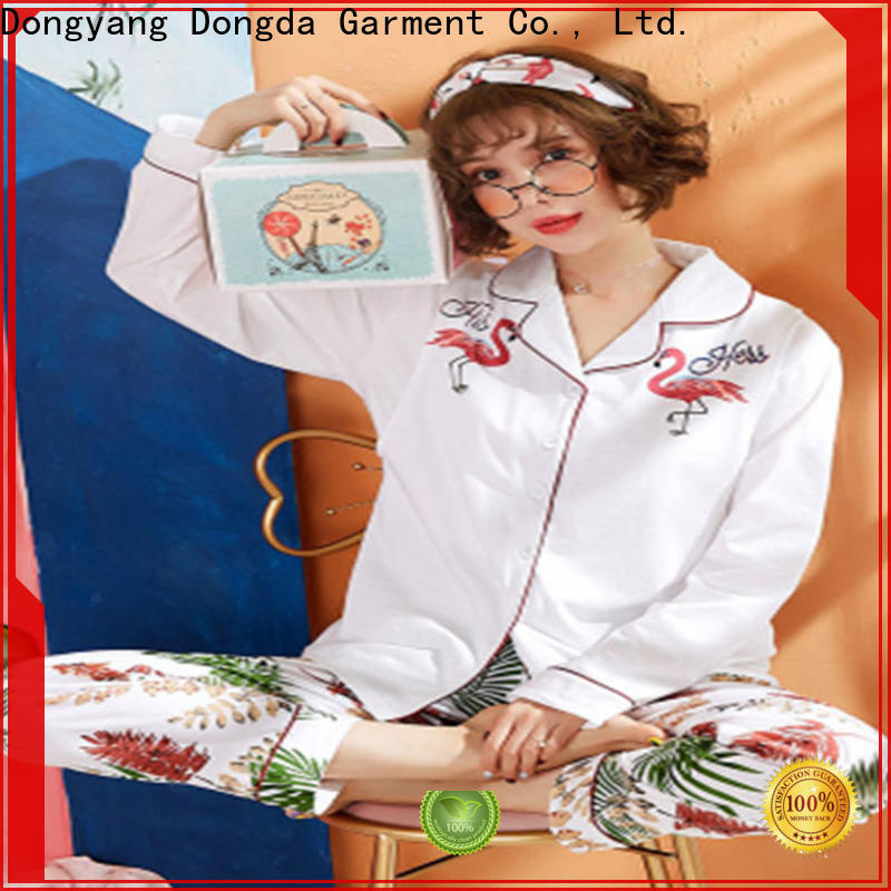 Dongda retro ladies pyjama sets factory for sale