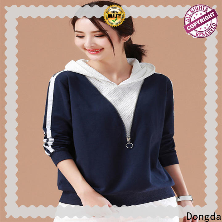 Dongda Best ladies hoodies suppliers for ladies