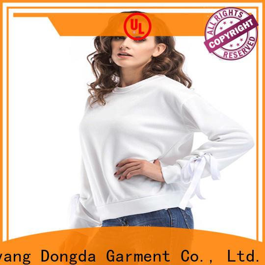 Best female hoodies girls factory for international market