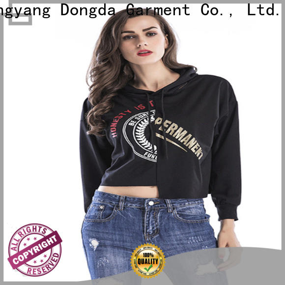 Dongda High-quality female hoodies suppliers for international market