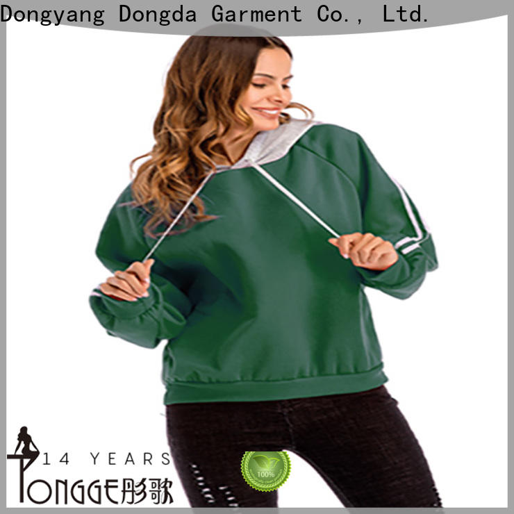 Dongda female womens sweatshirts for business for ladies