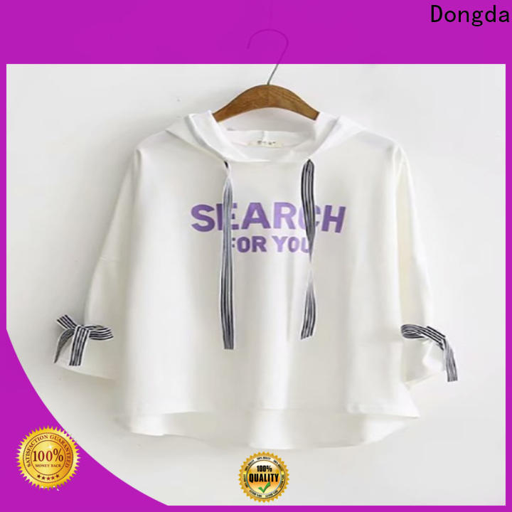 Dongda Top ladies sweatshirts suppliers for ladies
