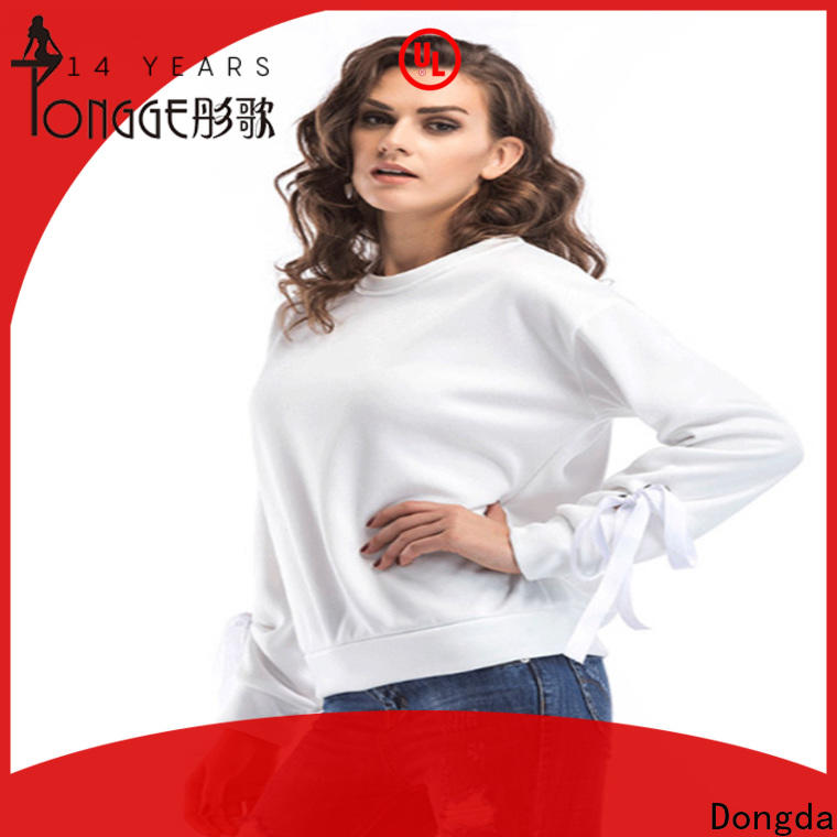 Dongda design ladies sweatshirts manufacturers for international market