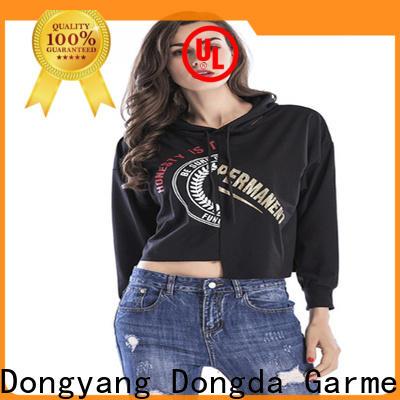 Latest ladies hoodies design factory for international market