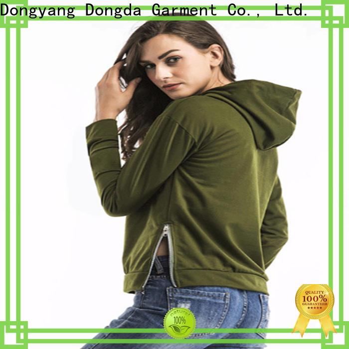 Dongda spring ladies hoodies for business for ladies