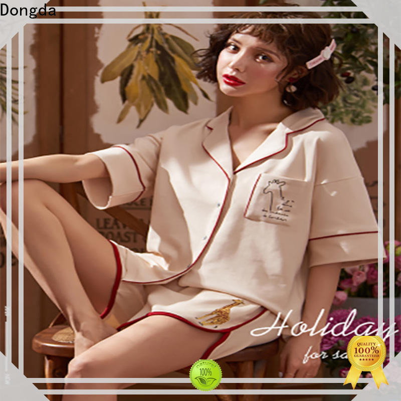 Dongda Latest sleepwear sets for business for women