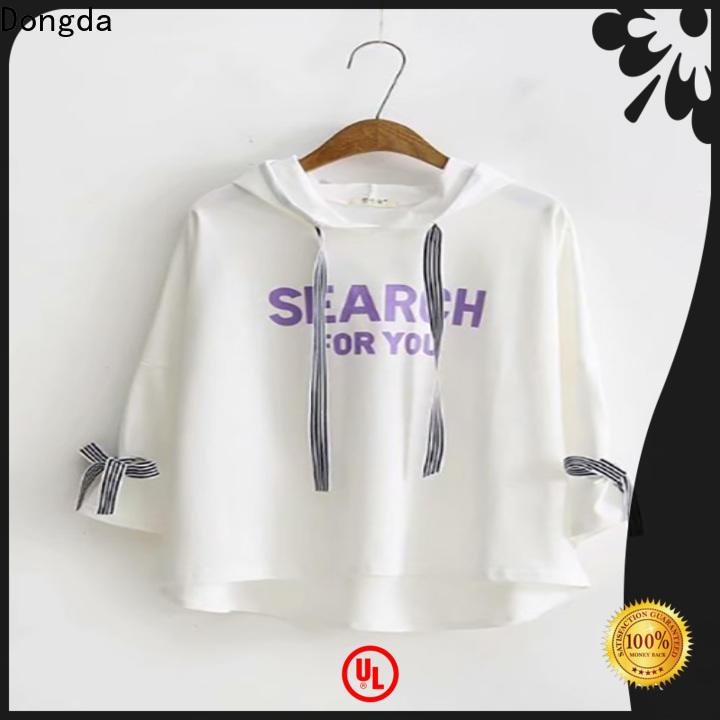 Dongda New ladies hoodies company for international market