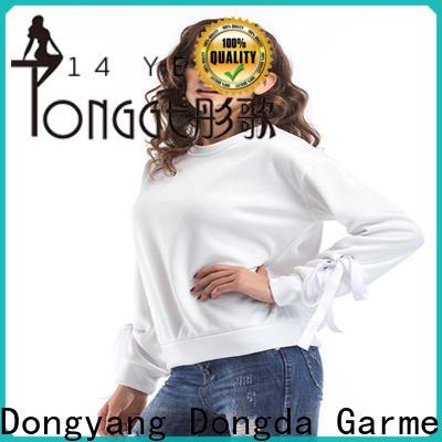 Dongda spring ladies sweatshirts manufacturers for ladies