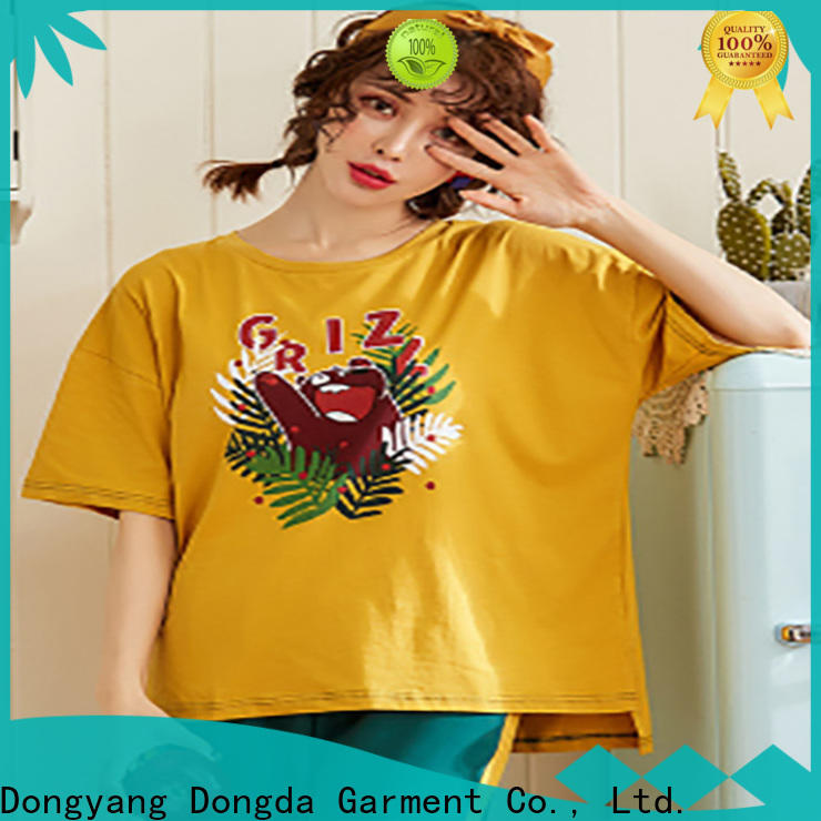 Dongda Custom ladies pyjama sets for sale for women