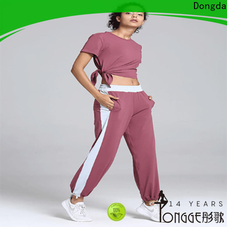Dongda Custom gym yoga pants for business for pear shaped