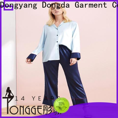 Dongda pajama dress manufacturers for ladies