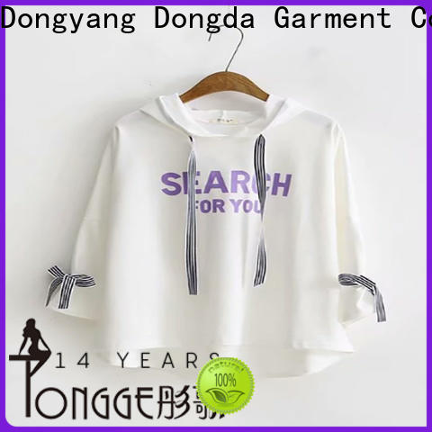 Dongda High-quality graphic sweatshirts factory for ladies