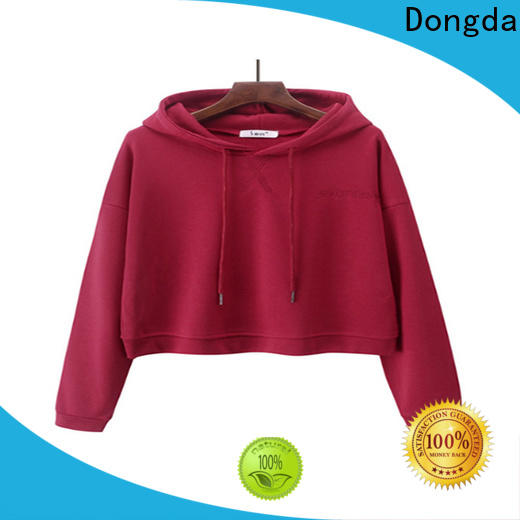 Dongda Top female hoodies manufacturers for international market