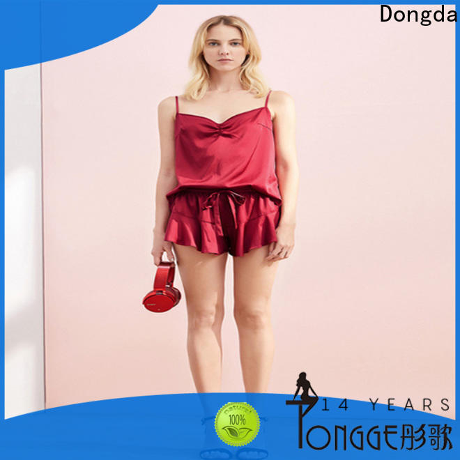 Dongda loose women's sleepwear sets factory for ladies