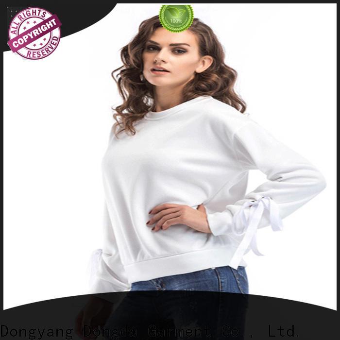 Dongda long sleeved womens sweatshirts company for ladies