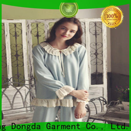 Dongda imitated fabric home clothes for sale for ladies