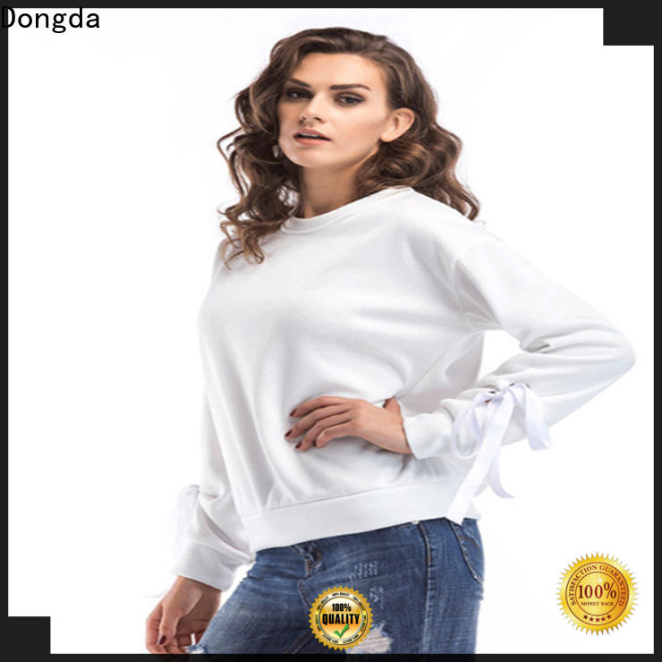 womens sweatshirts single color supply for international market