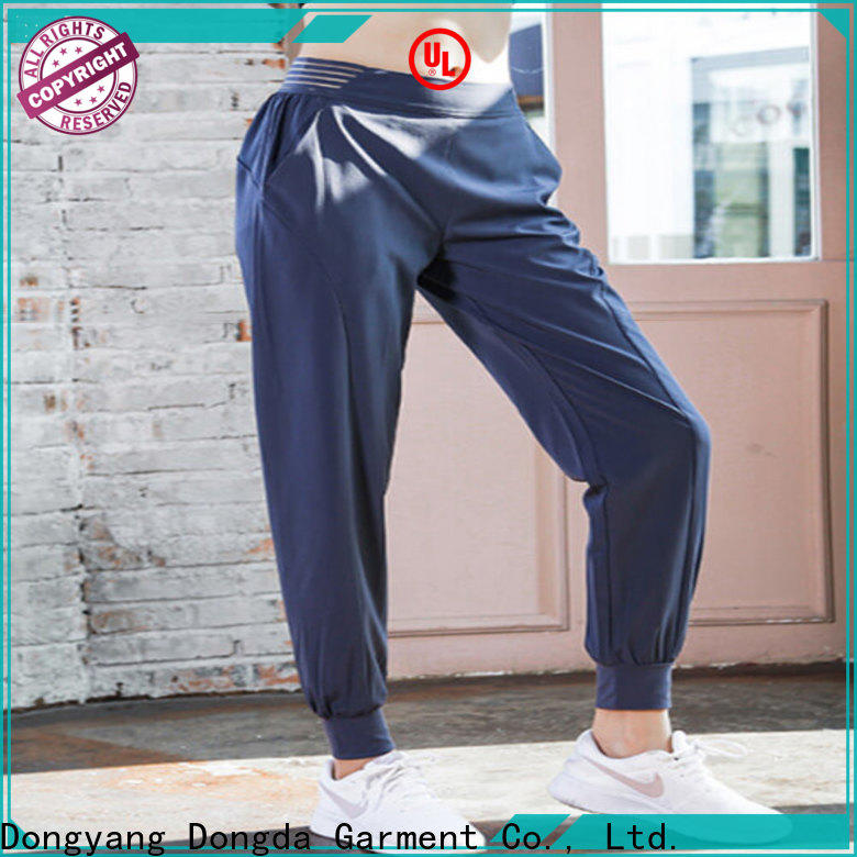 Dongda Best gym yoga pants for sale for pear shaped