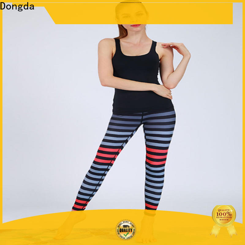 Dongda yoga suit exercise leggings supply for sweating