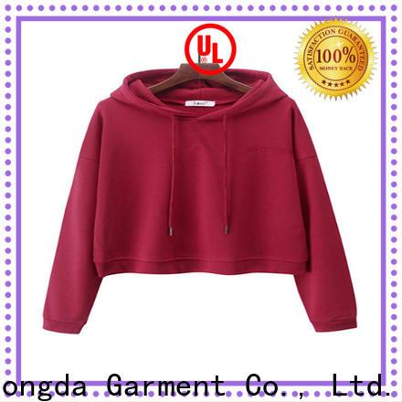 Dongda mixed ladies hoodies manufacturers for international market