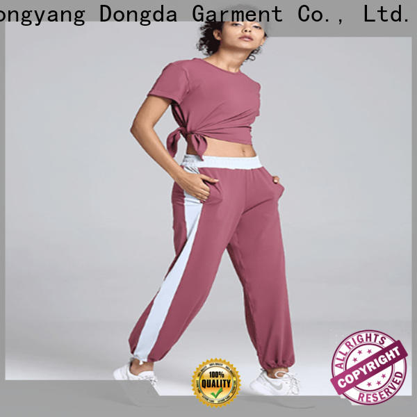 Dongda breathable womens fitness pants company for pear shaped