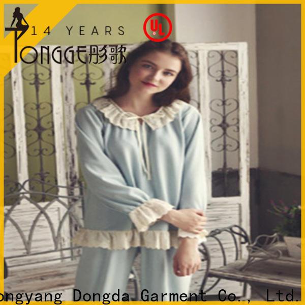 Dongda pajamas womans pyjamas manufacturers for ladies