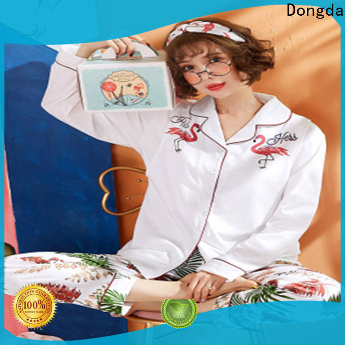 Dongda fiber pajama dress manufacturers for sale