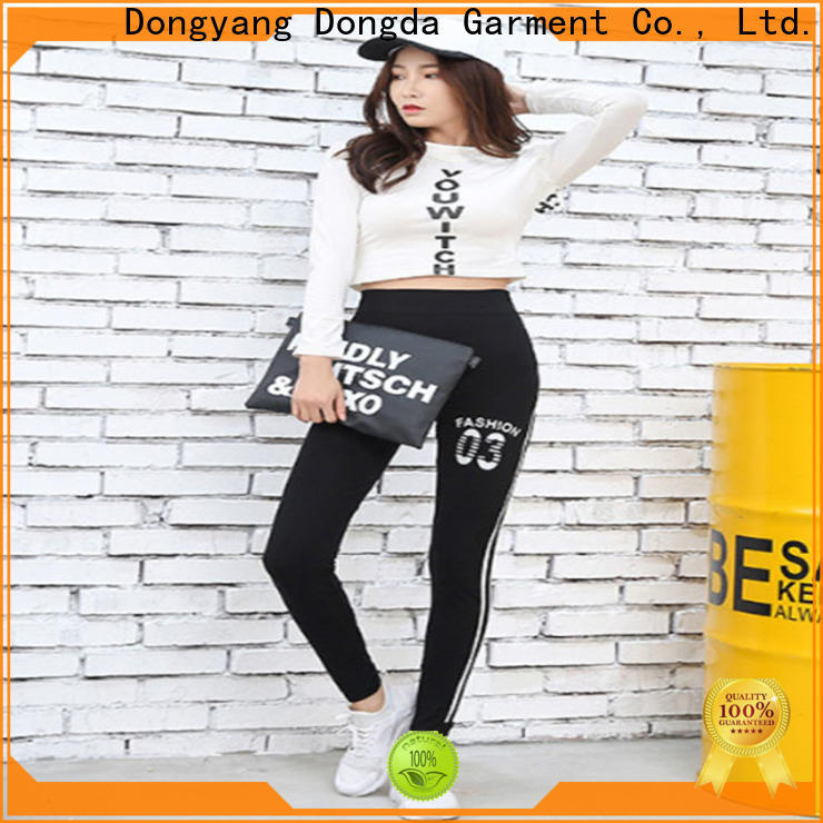 New exercise tights woven for business for women