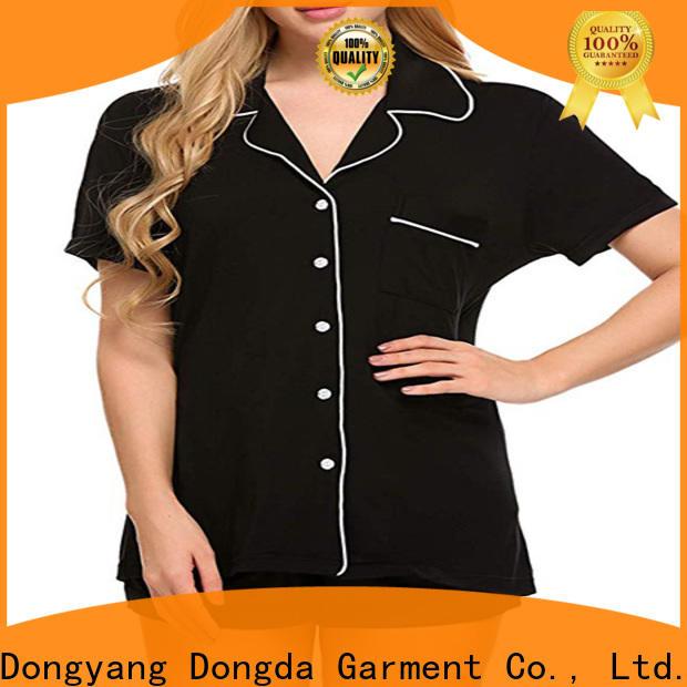 Dongda long sleeve ladies sleepwear supply for sale
