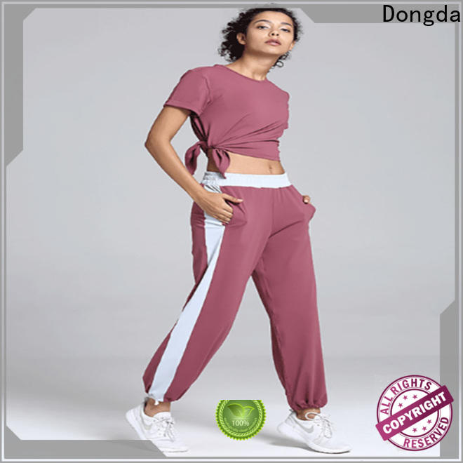 Dongda Latest gym trousers company for sweating