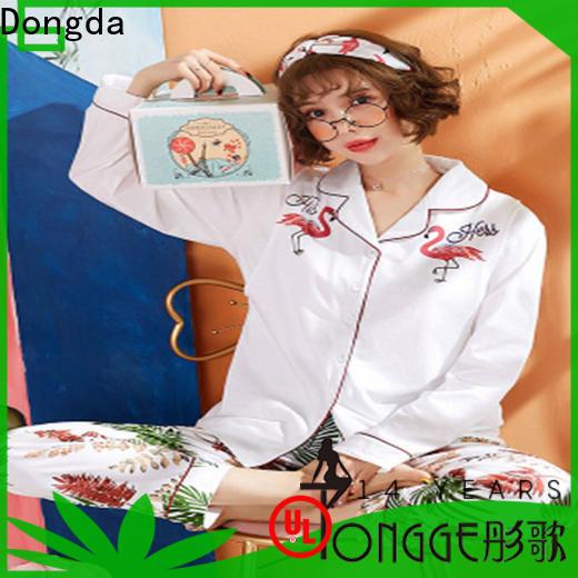 Latest female pajamas ladies company for women