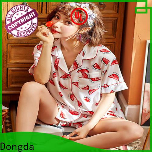 Dongda imitated fabric women's sleepwear sets company for women