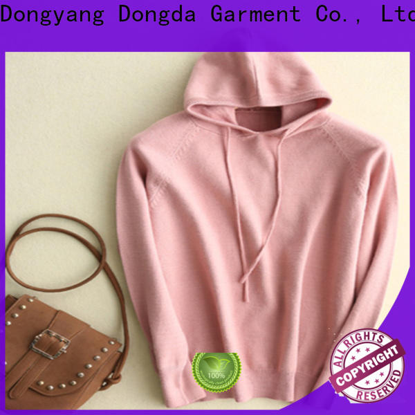 Dongda Wholesale female hoodies factory for ladies