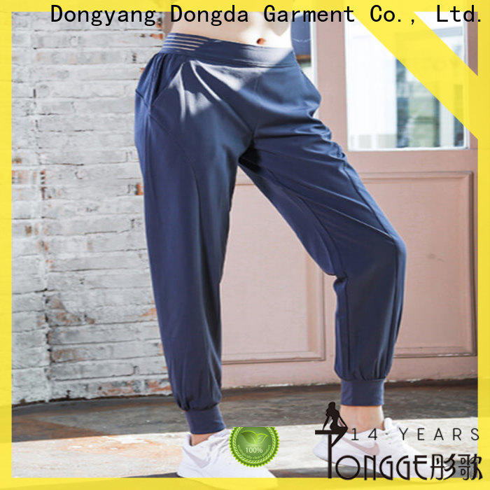 Dongda yoga suit womens fitness pants factory for summer