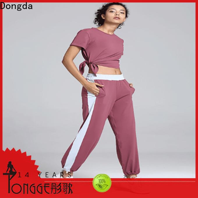 Dongda harajuku ladies workout pants factory for petites