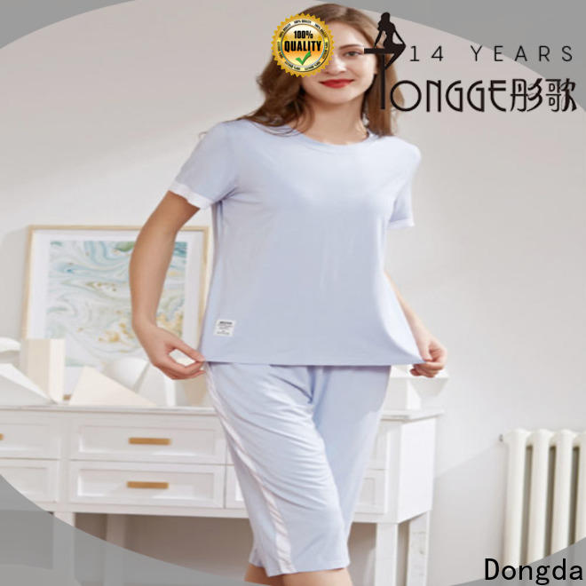 Dongda long sleeved pajama dress for business for sale