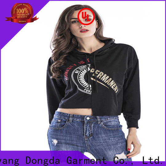 Dongda High-quality ladies hoodies suppliers for women
