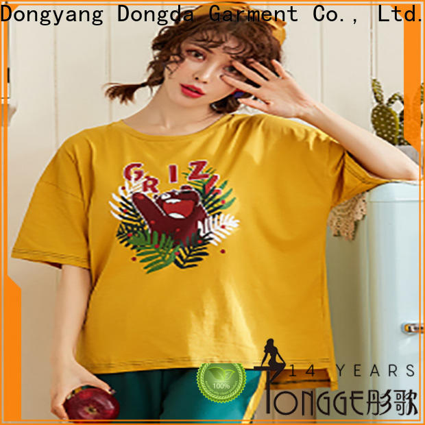 Dongda bamboo home clothes for business for ladies