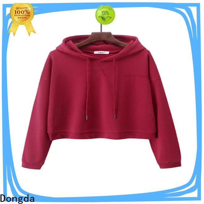 Custom ladies hoodies long sleeved company for ladies
