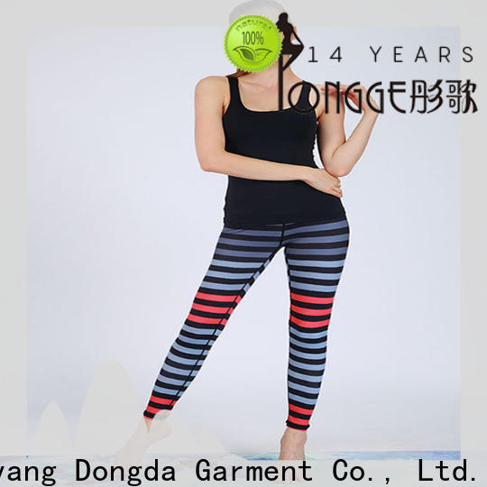 Dongda breathable fitness leggings manufacturers for sweating
