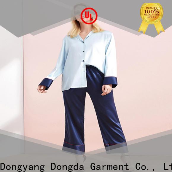 women's sleepwear sets long sleeved supply for women