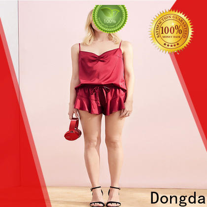 Dongda imitated fabric pajama dress for business for ladies