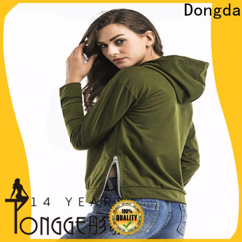 Dongda ladies hoodies suppliers for women