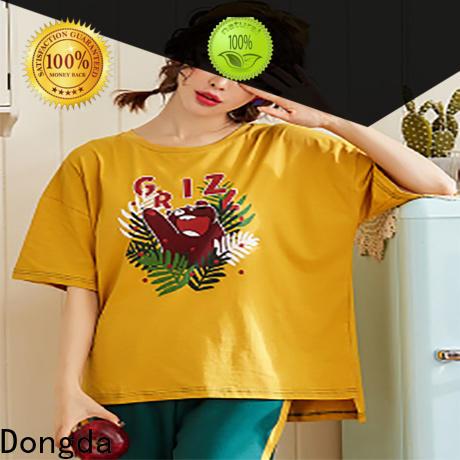 Dongda cartoon ladies sleepwear for sale for ladies