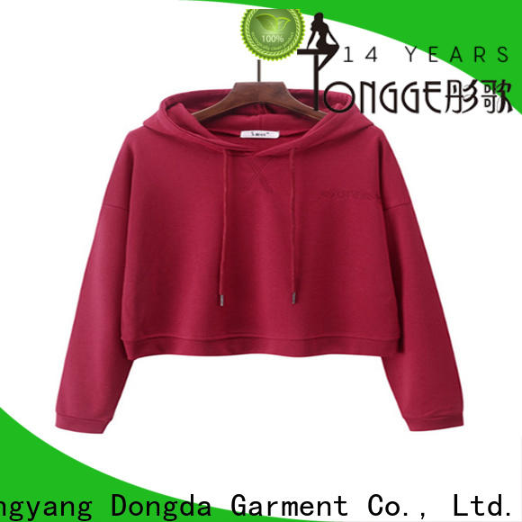 Dongda graphic sweatshirts manufacturers for ladies