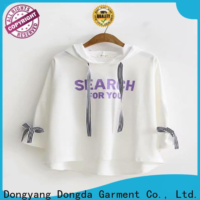 Dongda Wholesale ladies hoodies company for women